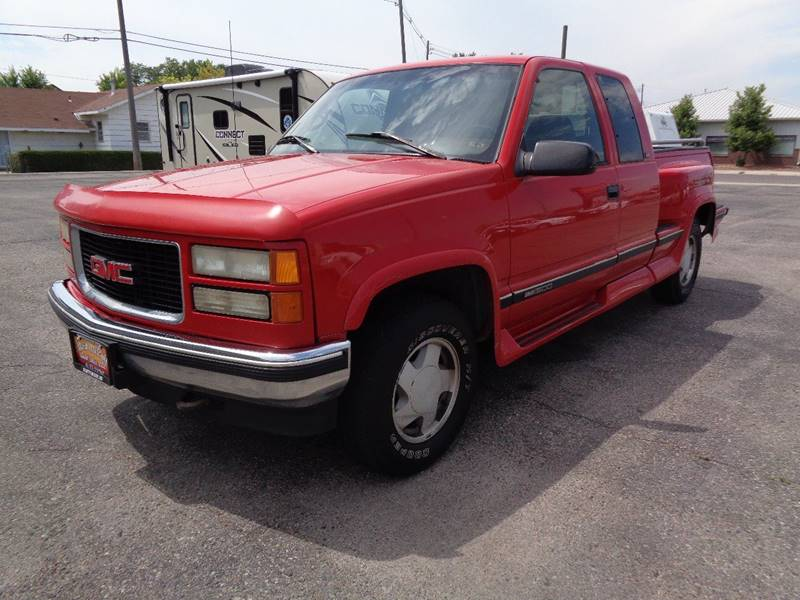 1996 GMC Sierra 1500 for sale at Mark McCall Auto Sales LLC in Scottsbluff NE