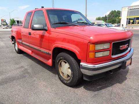 1996 GMC Sierra 1500 for sale at Mark McCall Auto Sales LLC in Scottsbluff NE
