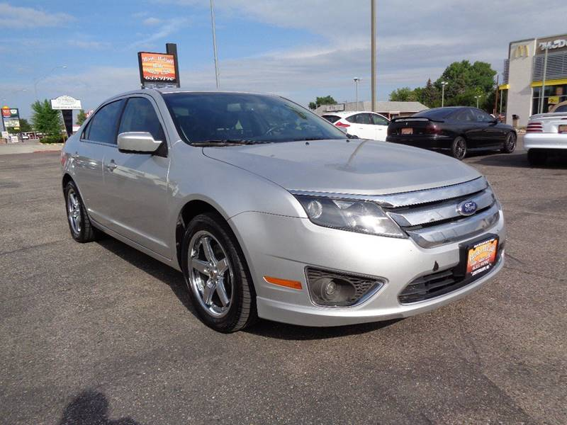 2012 Ford Fusion for sale at Mark McCall Auto Sales LLC in Scottsbluff NE