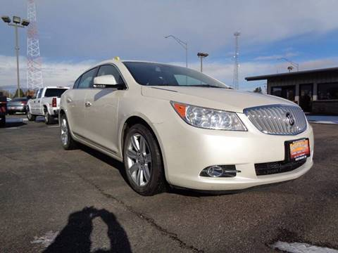 2012 Buick LaCrosse for sale at Mark McCall Auto Sales LLC in Scottsbluff NE