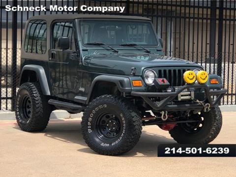 2003 Jeep Wrangler for sale in Plano, TX