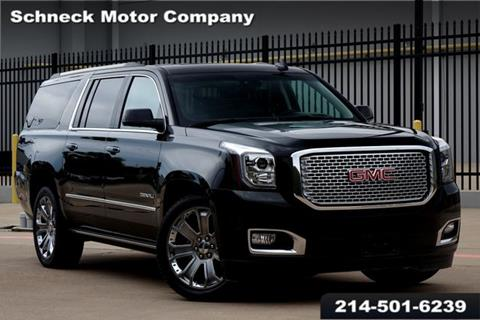 2016 GMC Yukon XL for sale in Plano, TX