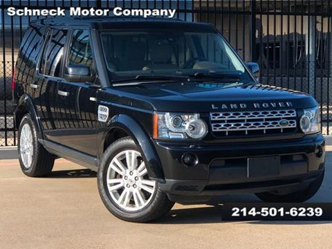 2012 Land Rover LR4 for sale in Plano, TX