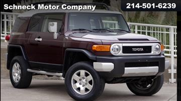 2007 Toyota FJ Cruiser for sale in Plano, TX