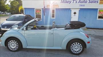2004 Volkswagen New Beetle for sale in Hudson, FL