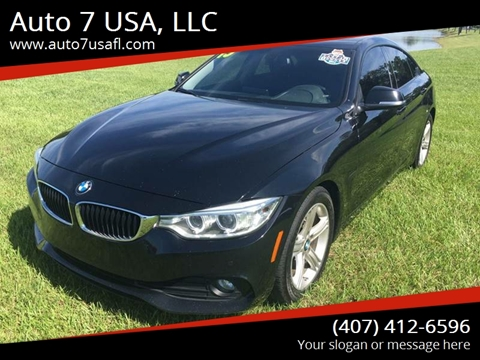 2015 BMW 4 Series for sale at Auto 7 USA, LLC in Orlando FL