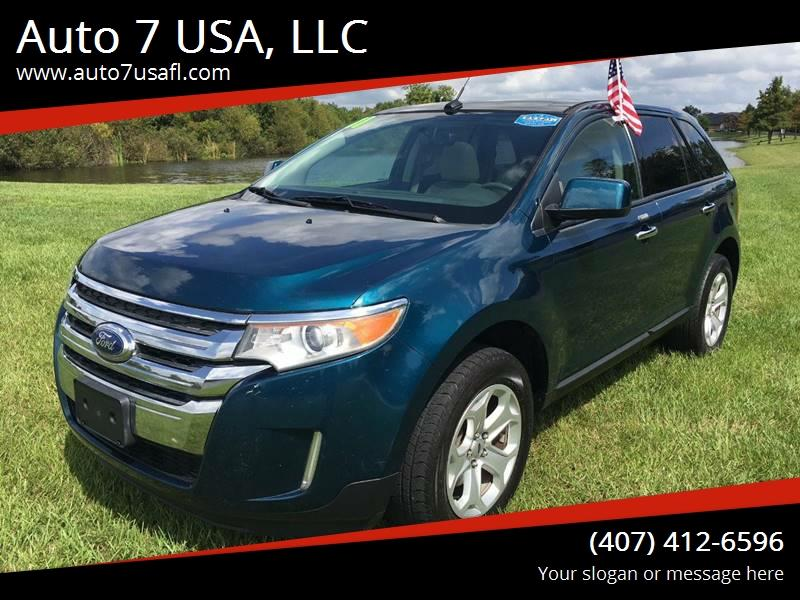 2011 Ford Edge for sale at Auto 7 USA, LLC in Orlando FL