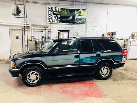 1996 Chevrolet Blazer for sale at Car Corral in Tyler MN