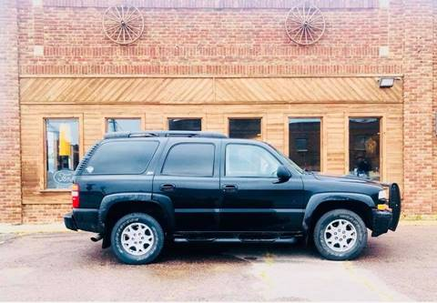 2003 Chevrolet Tahoe Limited/Z71 for sale at Car Corral in Tyler MN
