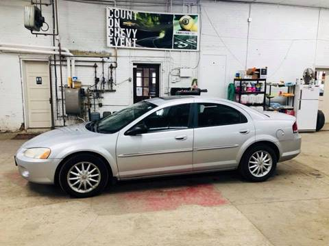 2002 Chrysler Sebring for sale at Car Corral in Tyler MN