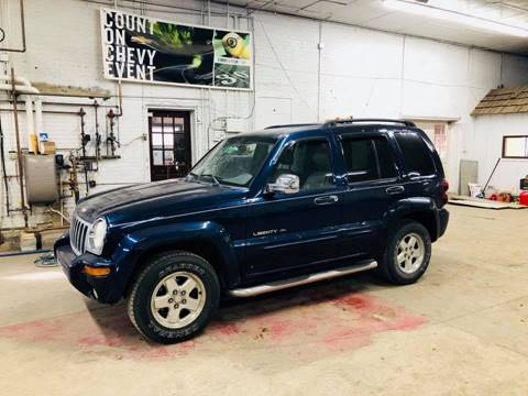 2003 Jeep Liberty for sale at Car Corral in Tyler MN