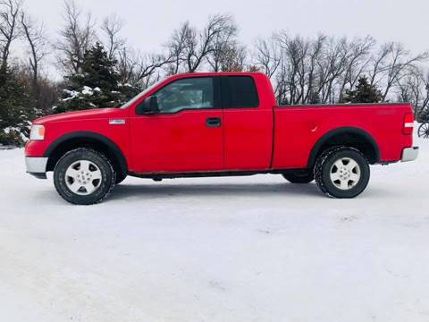 2005 Ford F-150 for sale at Car Corral in Tyler MN
