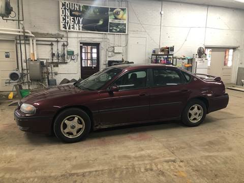 2001 Chevrolet Impala for sale at Car Corral in Tyler MN