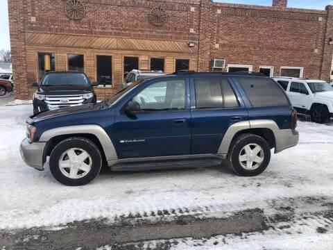 2003 Chevrolet TrailBlazer for sale at Car Corral in Tyler MN