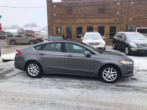 2013 Ford Fusion for sale at Car Corral in Tyler MN