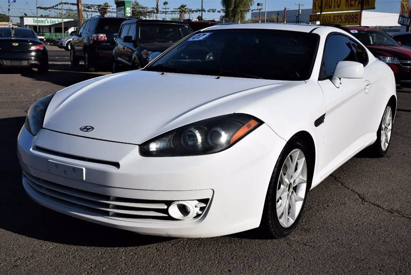 Superior 2007 Hyundai Tiburon For Sale At 1st Class Motors Llc In Phoenix AZ