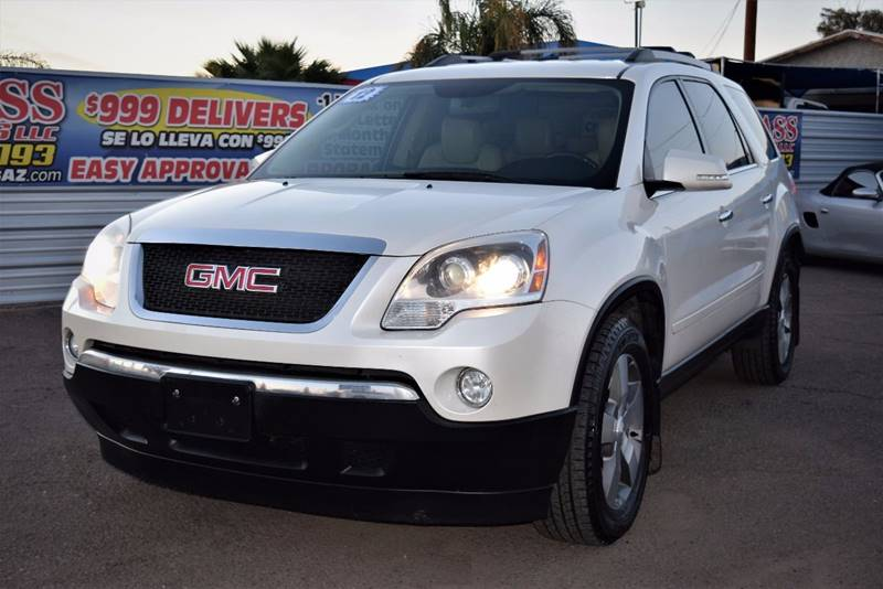 mpg specs profile exterior front price gmc red new interior review pictures cars acadia
