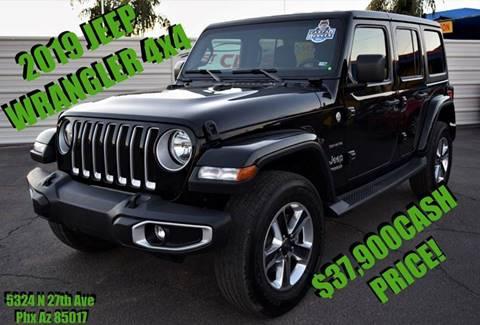 2019 Jeep Wrangler Unlimited for sale in Phoenix, AZ