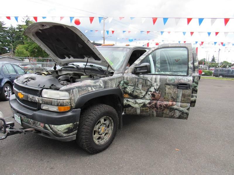 2001 Chevrolet Silverado 2500HD 4dr Crew Cab LS 4WD LB - Portland OR