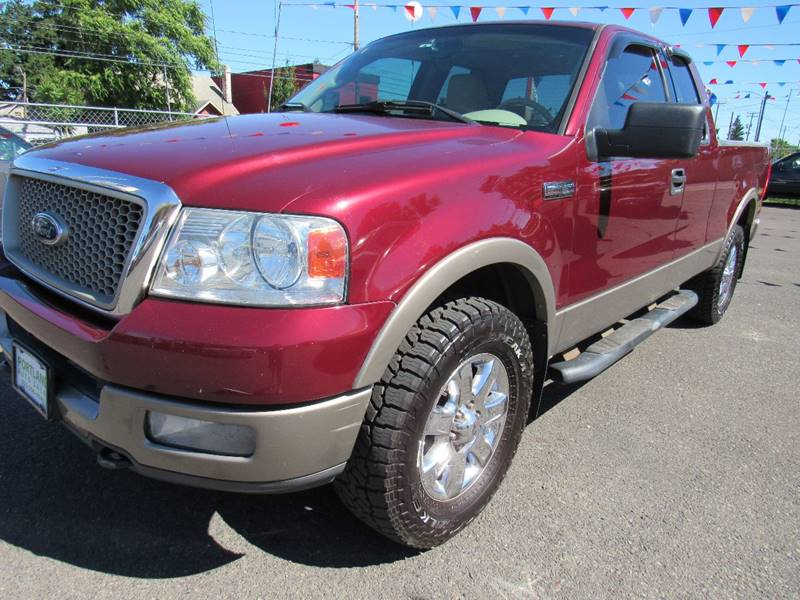 2004 Ford F-150 4dr SuperCab Lariat 4WD Styleside 5.5 ft. SB - Portland OR