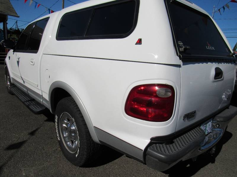 2001 Ford F-150 4dr SuperCrew Lariat 2WD Styleside SB - Portland OR