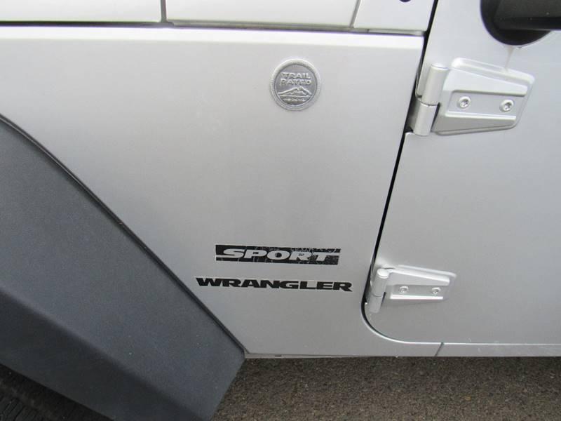 2010 Jeep Wrangler 4x4 Sport 2dr SUV - Portland OR