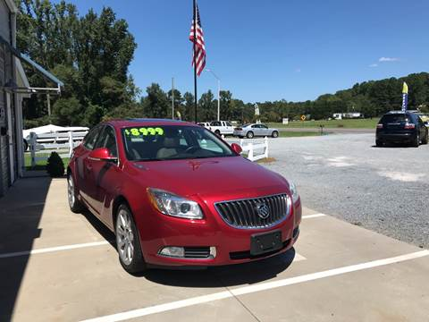 2013 Buick Regal for sale in Benson, NC