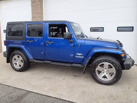 2010 Jeep Wrangler Unlimited for sale in Chicopee, MA