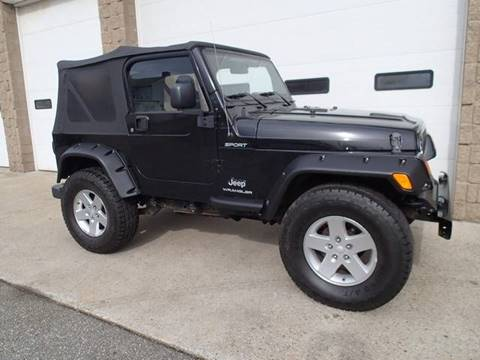2006 Jeep Wrangler for sale in Chicopee, MA