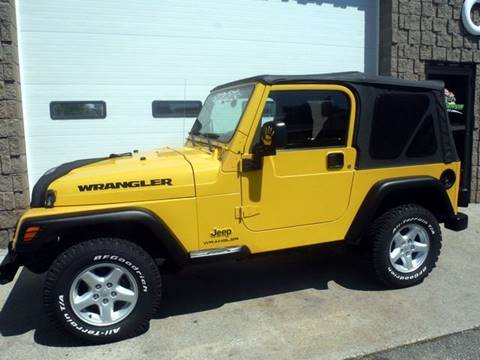 2004 Jeep Wrangler for sale in Chicopee, MA