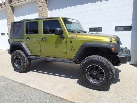 2008 Jeep Wrangler Unlimited for sale in Chicopee, MA
