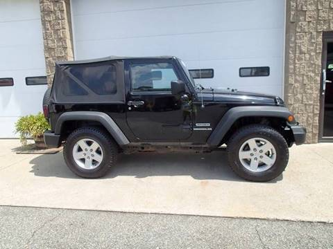 2011 Jeep Wrangler for sale in Chicopee, MA