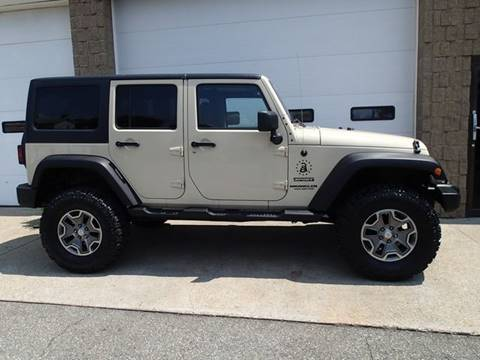 2011 Jeep Wrangler Unlimited for sale in Chicopee, MA