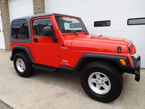 2005 Jeep Wrangler for sale in Chicopee, MA