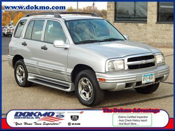 2001 Chevrolet Tracker for sale in Northfield, MN