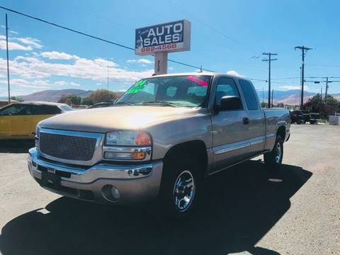 2004 GMC Sierra 1500 for sale in Carson City, NV
