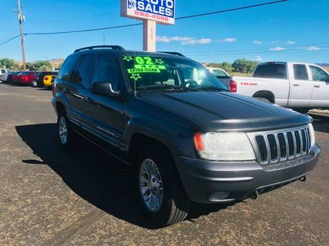 2002 Jeep Grand Cherokee for sale in Carson City, NV