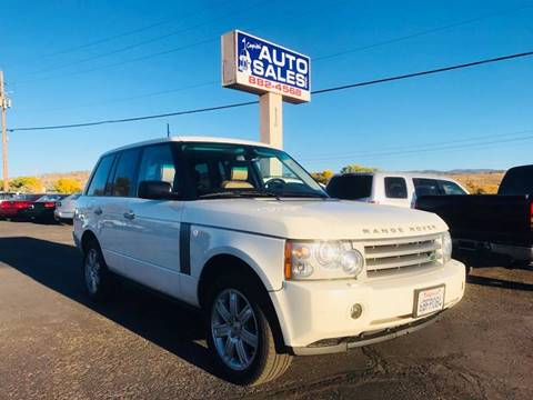 2008 Land Rover Range Rover for sale in Carson City, NV