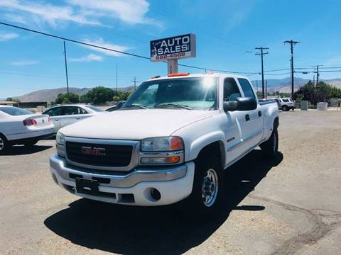 2004 GMC Sierra 2500 for sale in Carson City, NV