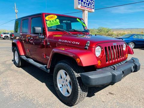 2007 Jeep Wrangler Unlimited for sale in Carson City, NV