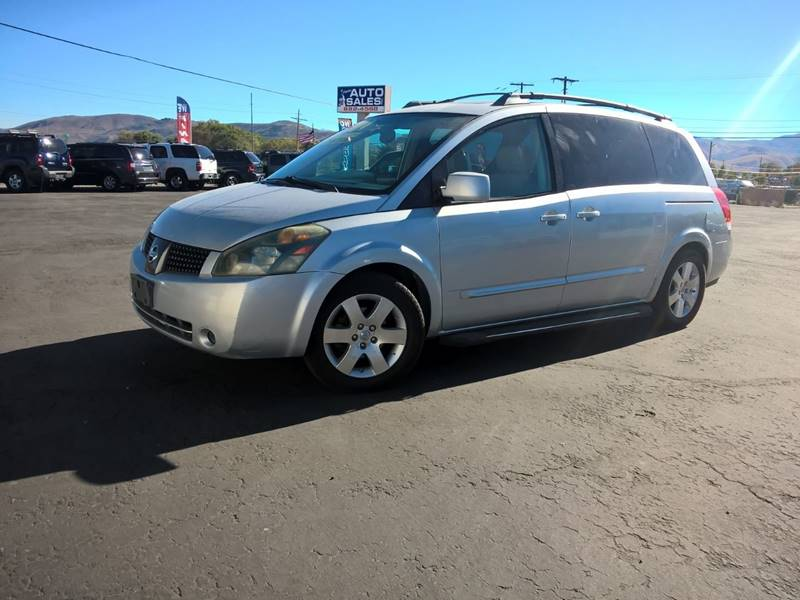 2004 Nissan Quest 3.5 SE 4dr Mini-Van - Carson City NV