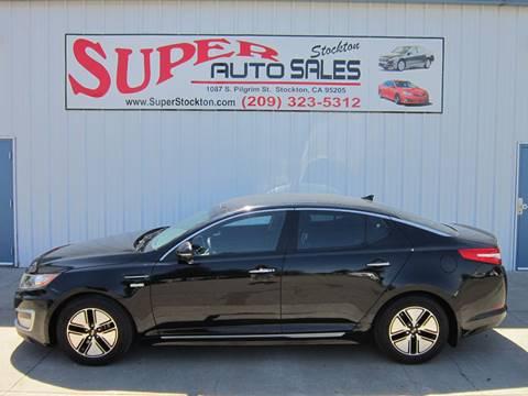 2011 Kia Optima Hybrid for sale in Stockton, CA