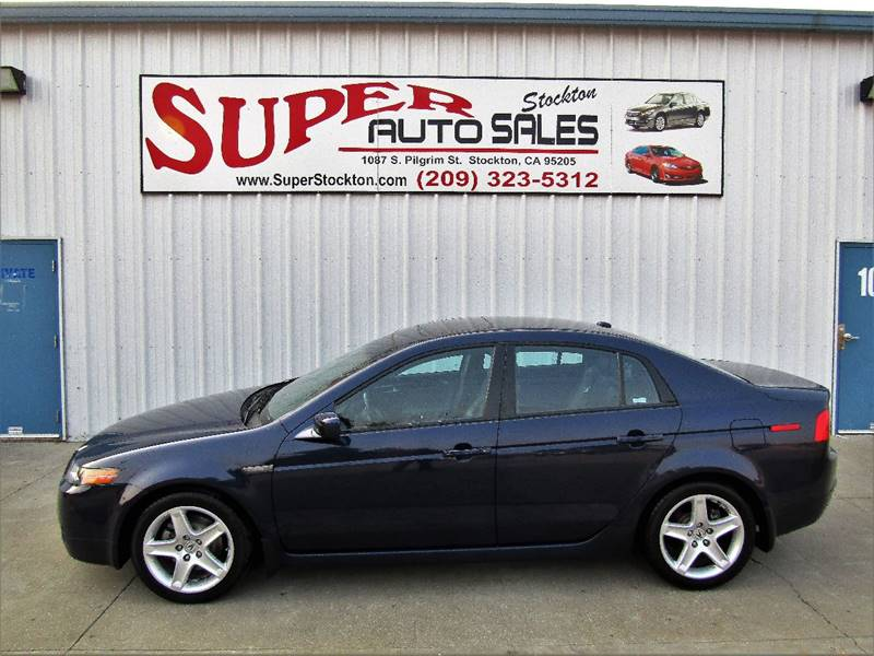 2006 Acura Tl W Navi In Stockton Ca Super Auto Sales Stockton