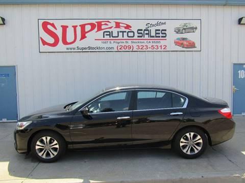2014 Honda Accord for sale in Stockton, CA