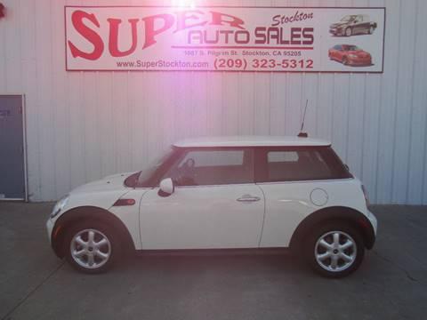 Cars For Sale Under $10000 >> 2009 Mini Cooper For Sale In Stockton Ca