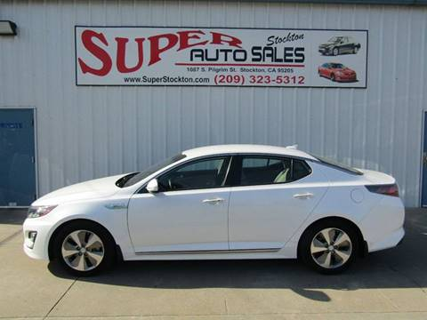 2015 Kia Optima Hybrid for sale in Stockton, CA