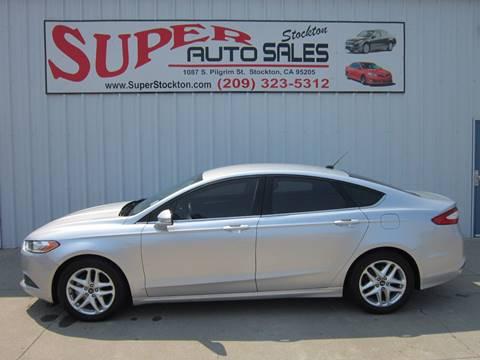 2013 Ford Fusion for sale in Stockton, CA