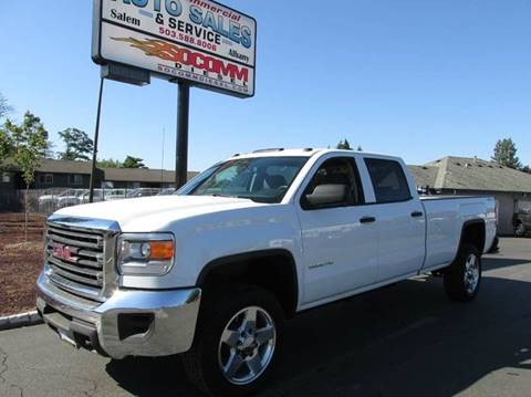 2015 GMC Sierra 2500HD for sale at South Commercial Auto Sales in Albany OR