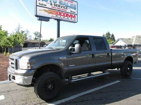 2005 Ford F-250 Super Duty for sale at South Commercial Auto Sales in Albany OR