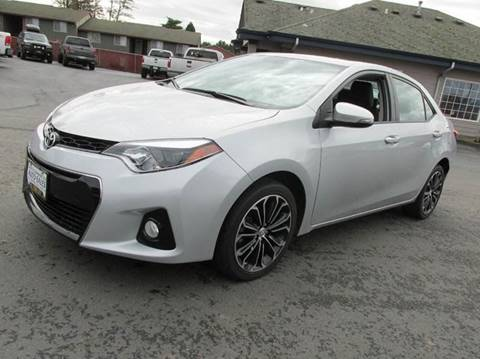 2014 Toyota Corolla for sale at South Commercial Auto Sales in Albany OR